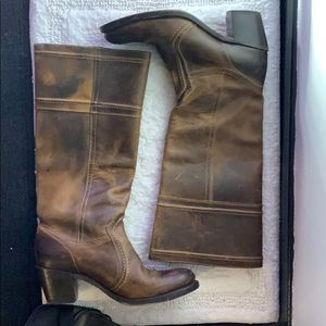 Women's Brown Frye Boots size 9.5